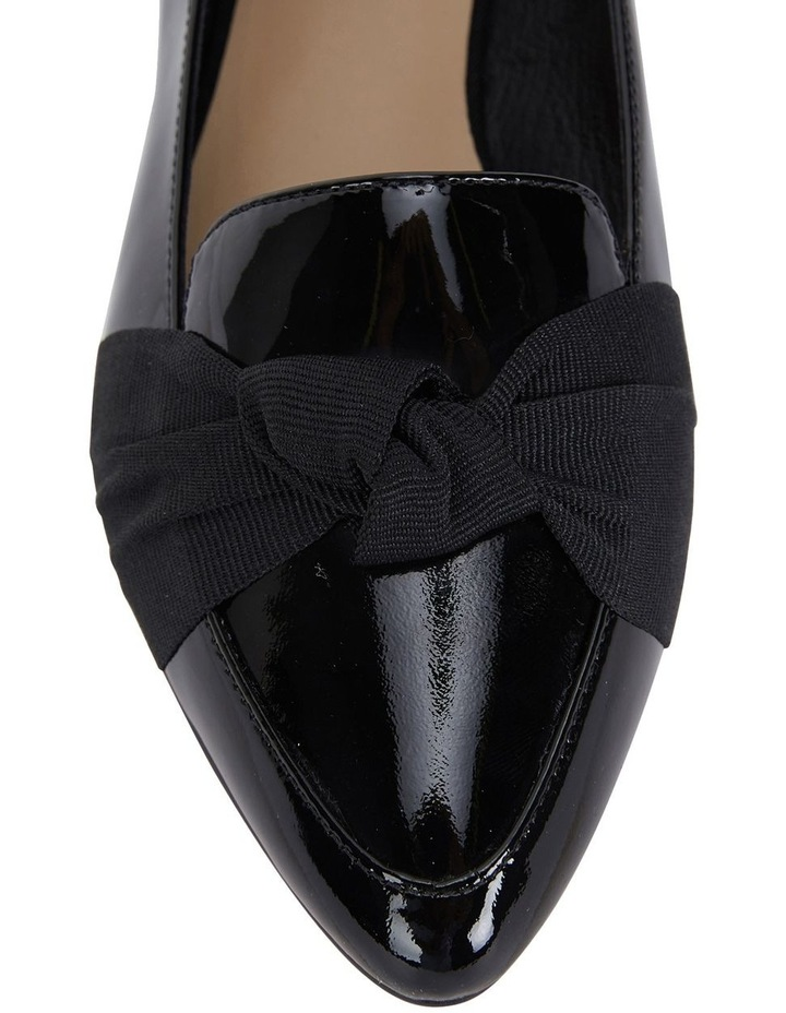 Jane Debster Tango Black Patent Flat Shoe image 7