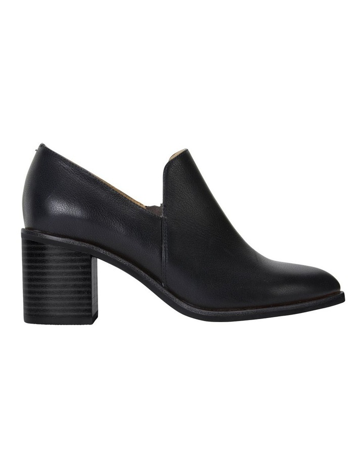 Decade Black Calf Heeled Shoes image 1