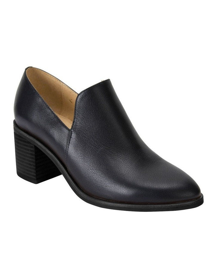 Decade Black Calf Heeled Shoes image 2