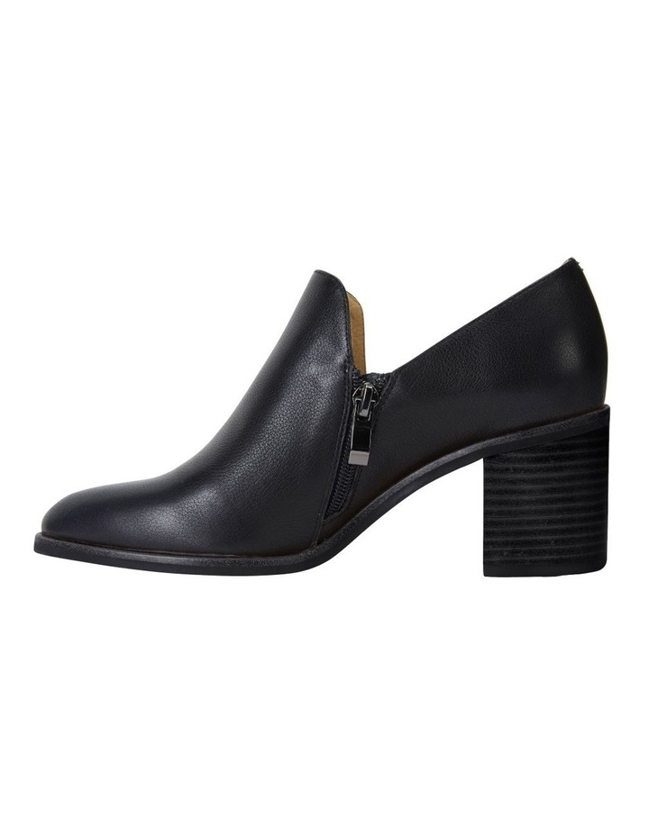 Decade Black Calf Heeled Shoes image 3