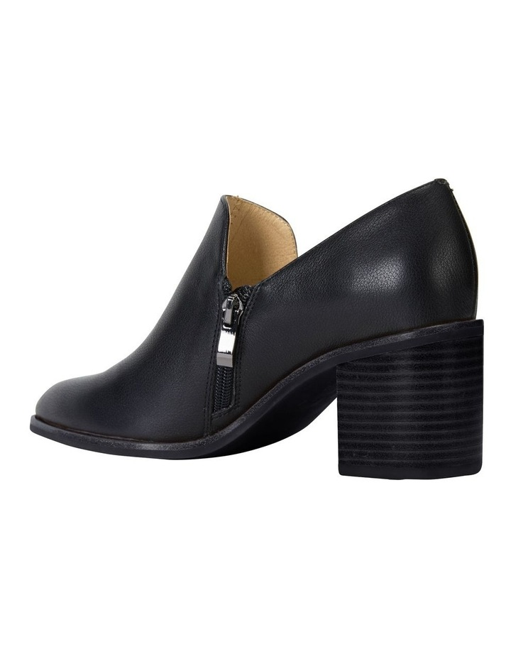 Decade Black Calf Heeled Shoes image 4