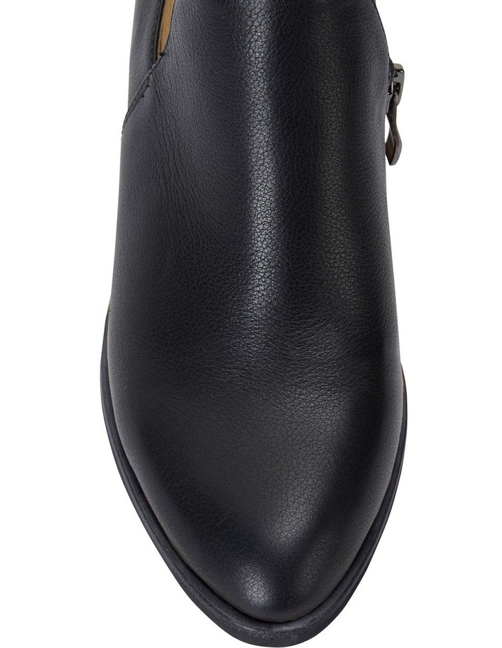 Decade Black Calf Heeled Shoes image 5