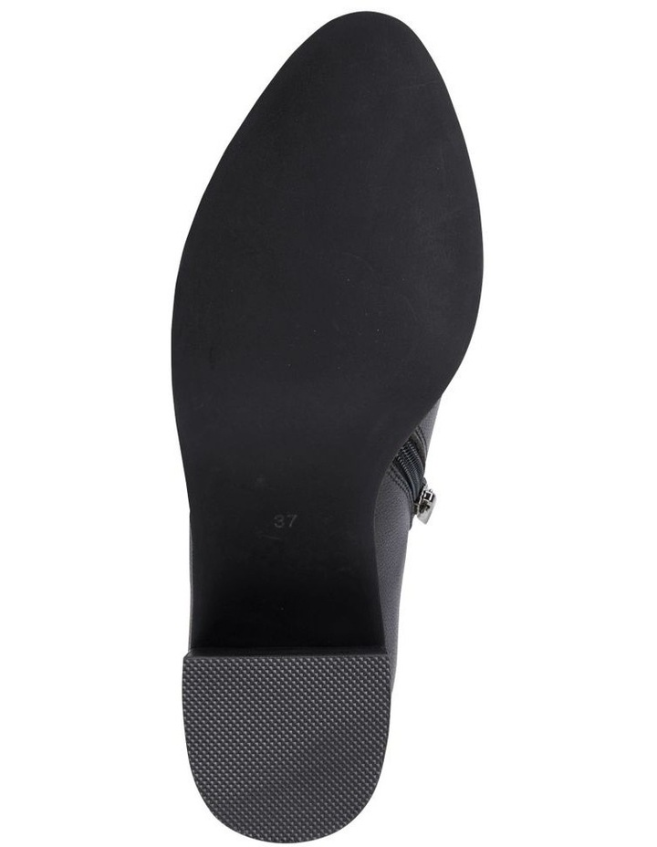 Decade Black Calf Heeled Shoes image 6