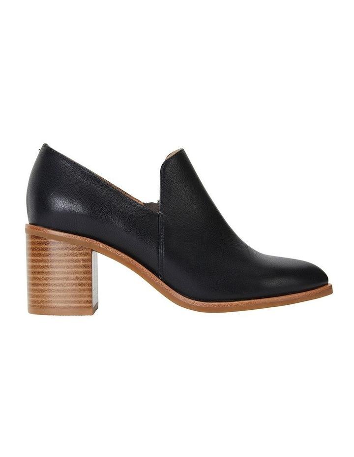 Decade Black Nappa Heeled Shoes image 1