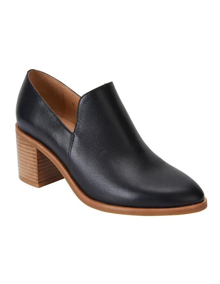 Decade Black Nappa Heeled Shoes image 2