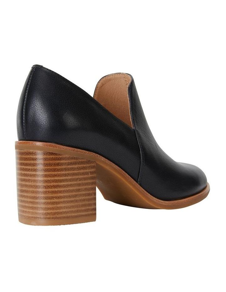 Decade Black Nappa Heeled Shoes image 4