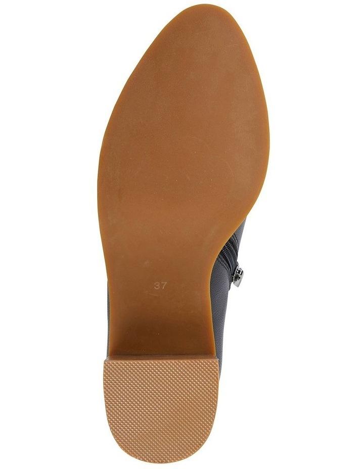 Decade Black Nappa Heeled Shoes image 5