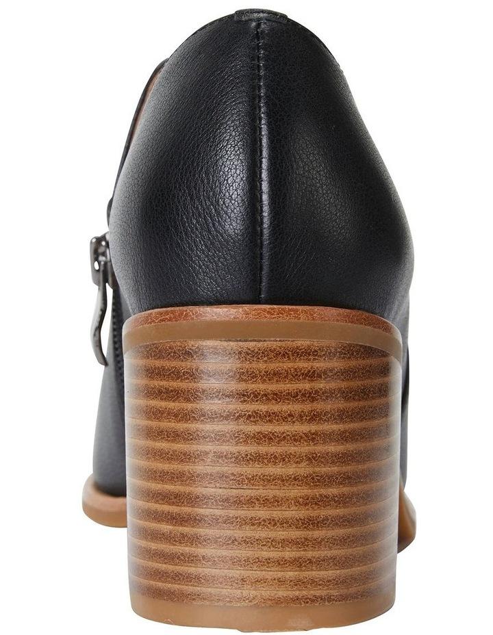 Decade Black Nappa Heeled Shoes image 6