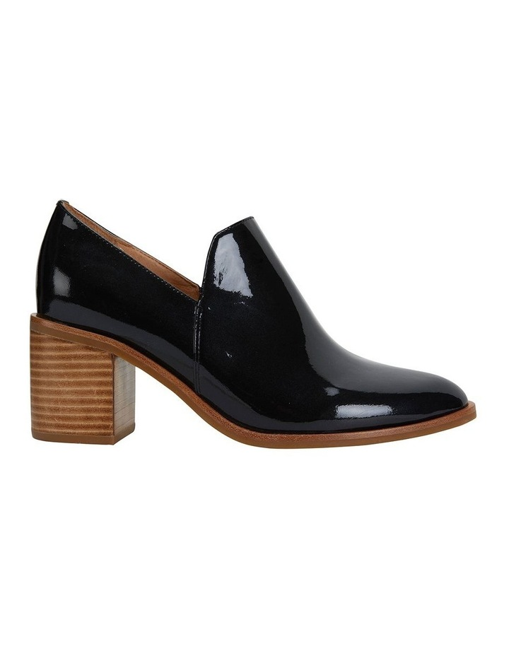 Decade Liquorice Patent Heeled Shoes image 1