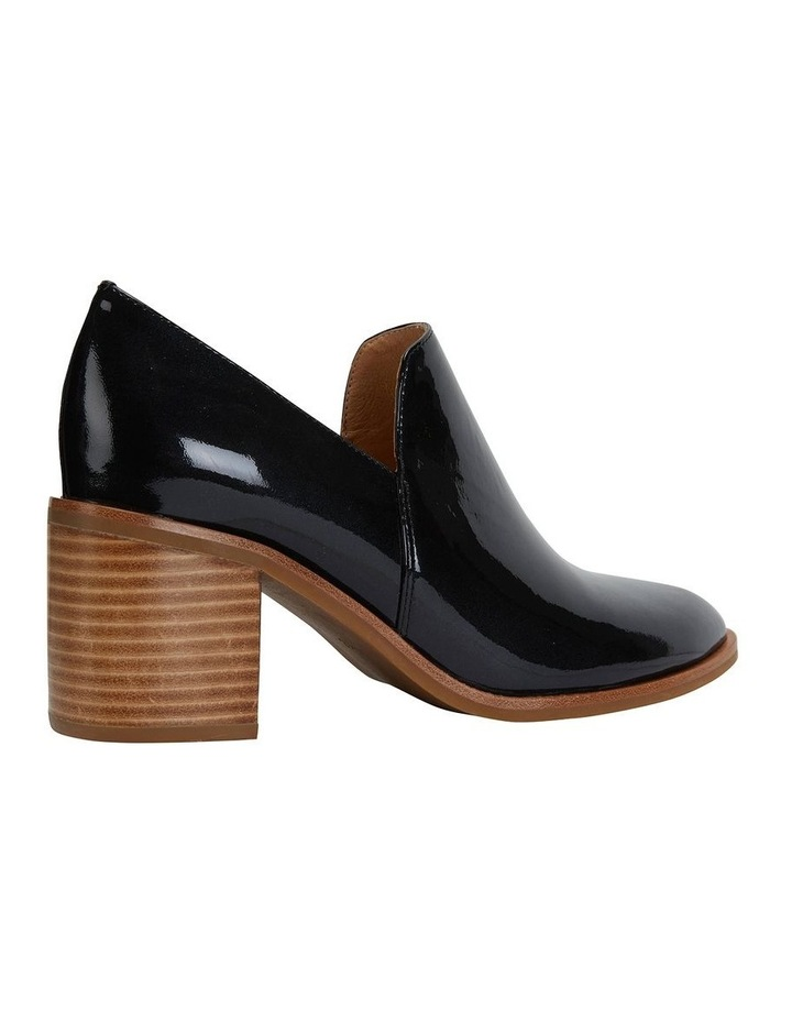 Decade Liquorice Patent Heeled Shoes image 4