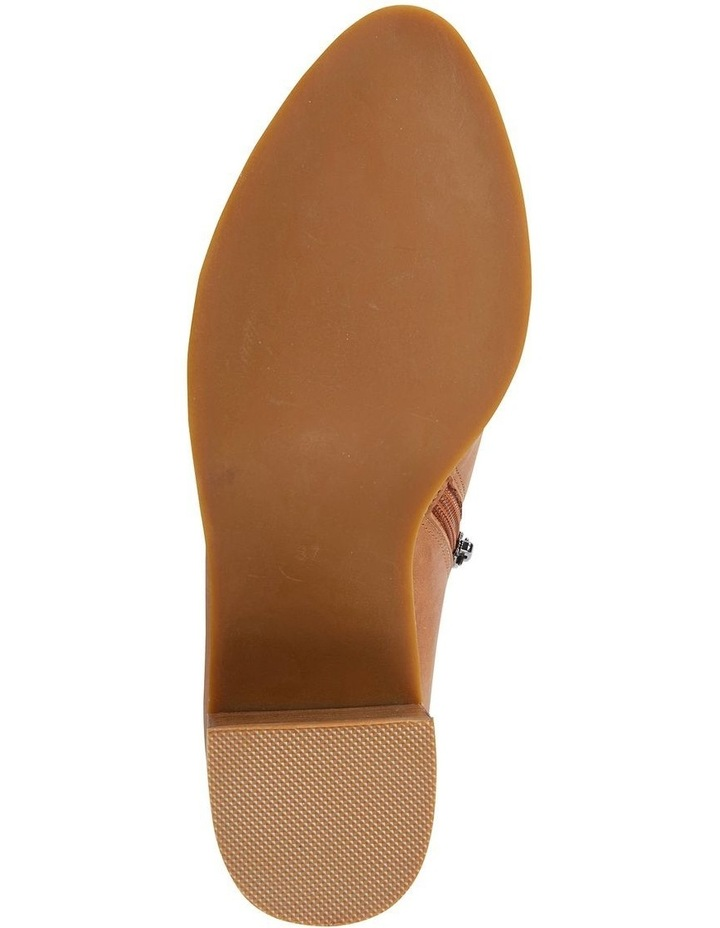 Decade Tan Glove Heeled Shoes image 5