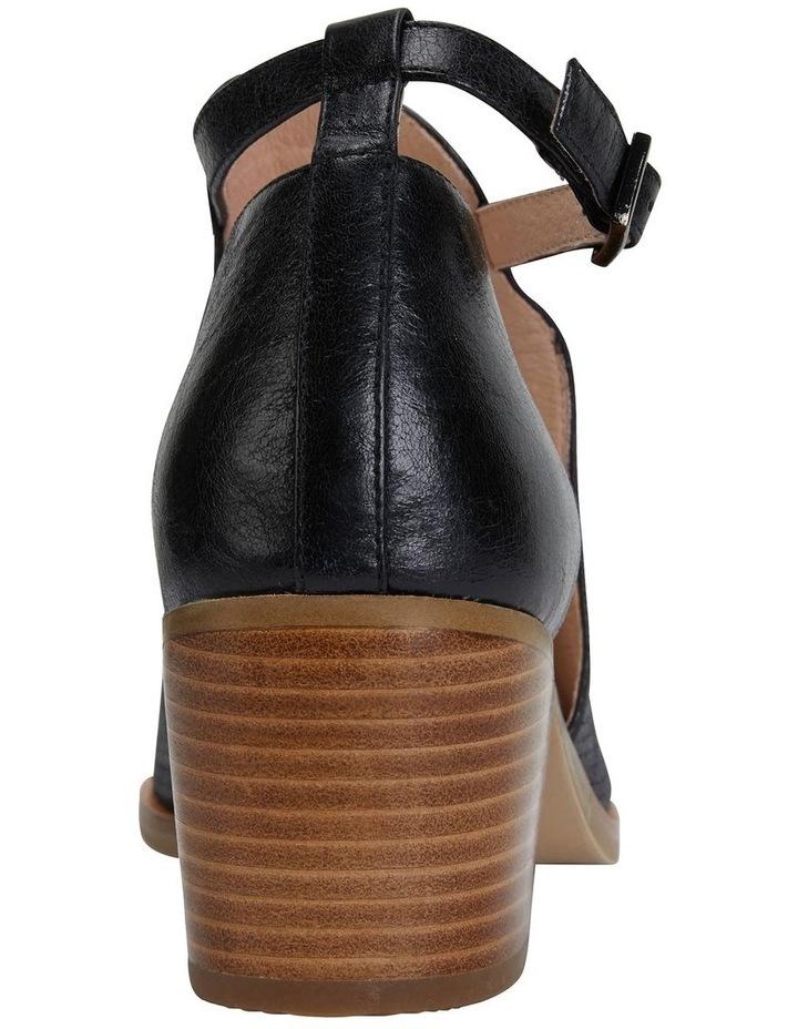 Divide Black Glove Heeled Shoes image 6