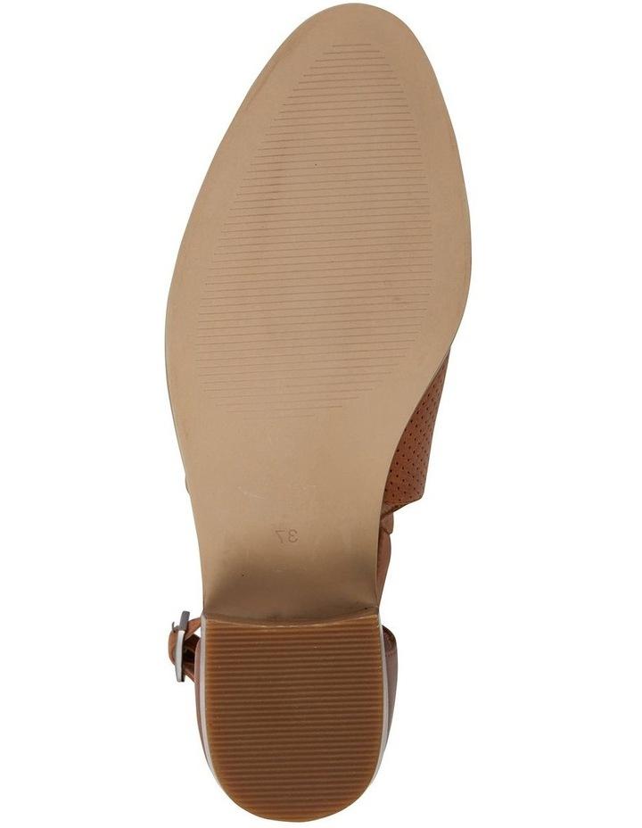 Divide Tan Glove Heeled Shoes image 5