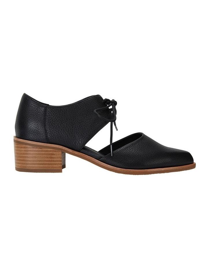 Exhibit Black Glove Flat Shoes image 1