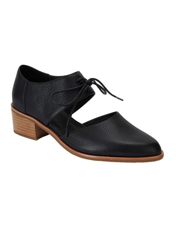 Exhibit Black Glove Flat Shoes image 2