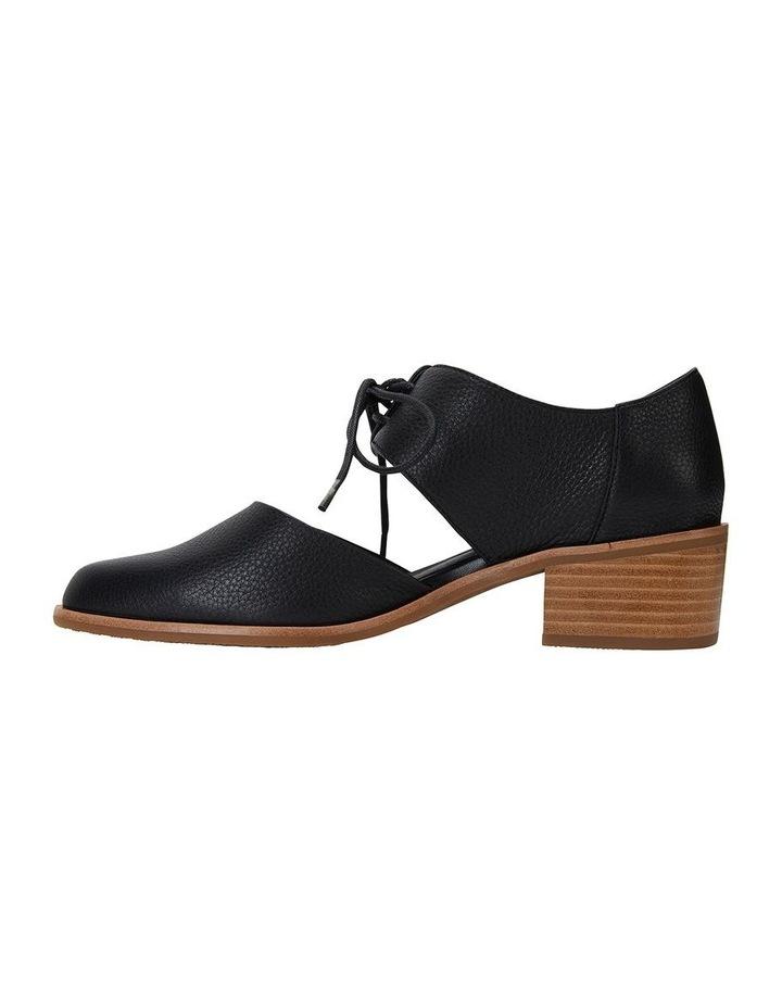 Exhibit Black Glove Flat Shoes image 3