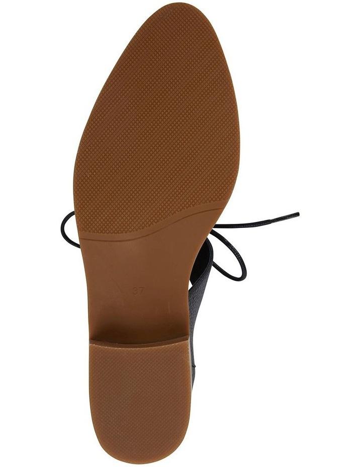 Exhibit Black Glove Flat Shoes image 5