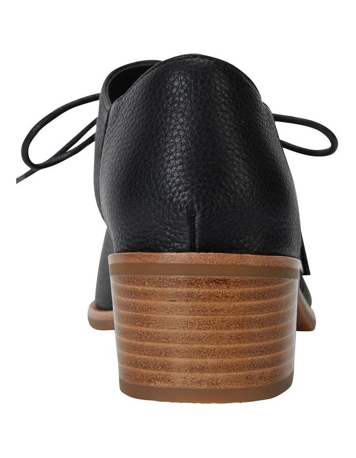 Exhibit Black Glove Flat Shoes image 6