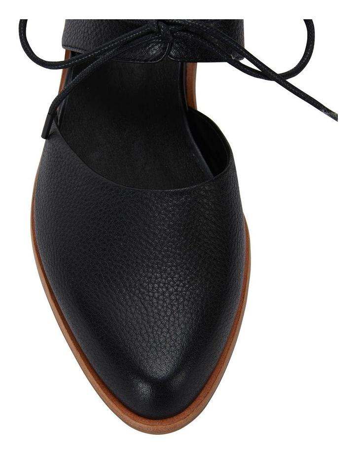 Exhibit Black Glove Flat Shoes image 7