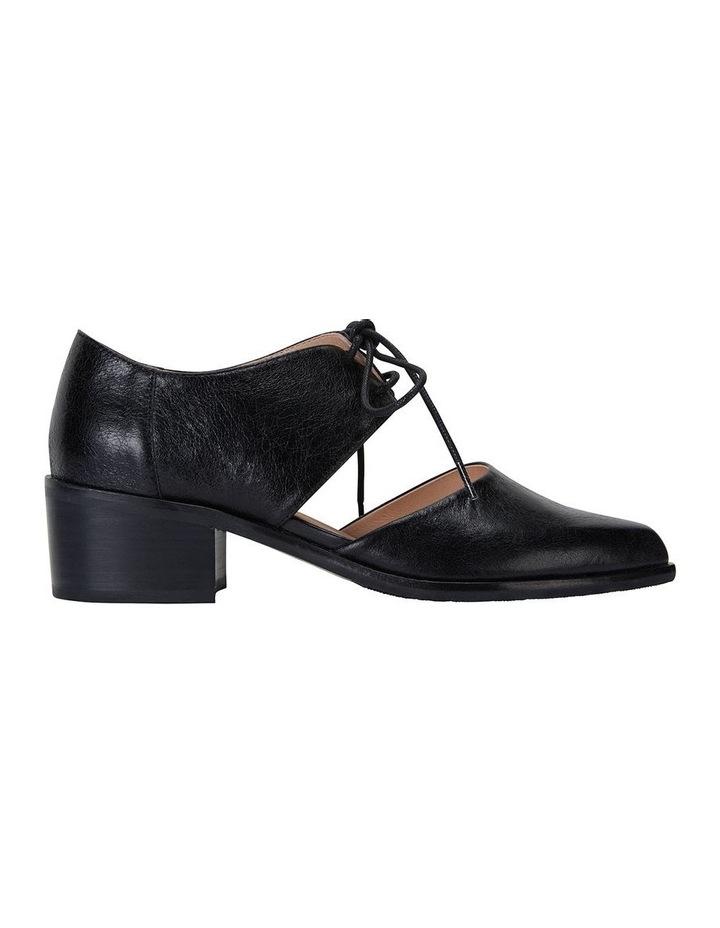 Exhibit Black Oil Flat Shoes image 1