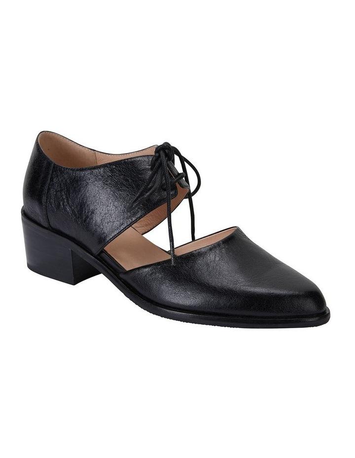 Exhibit Black Oil Flat Shoes image 2