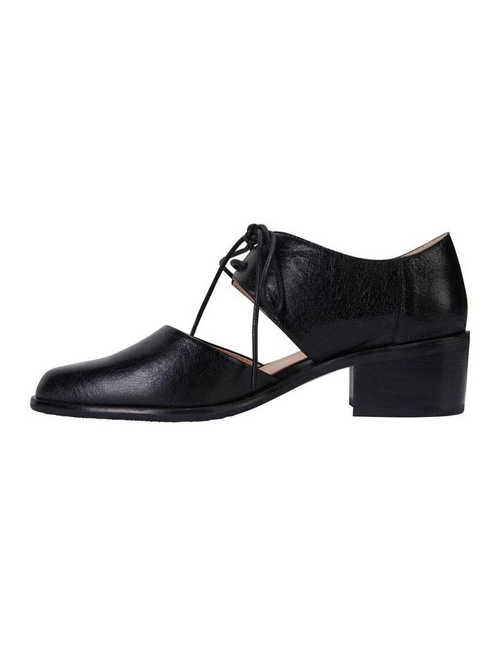Exhibit Black Oil Flat Shoes image 3