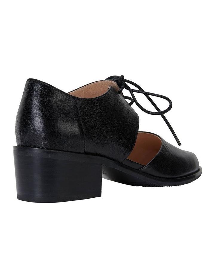 Exhibit Black Oil Flat Shoes image 4
