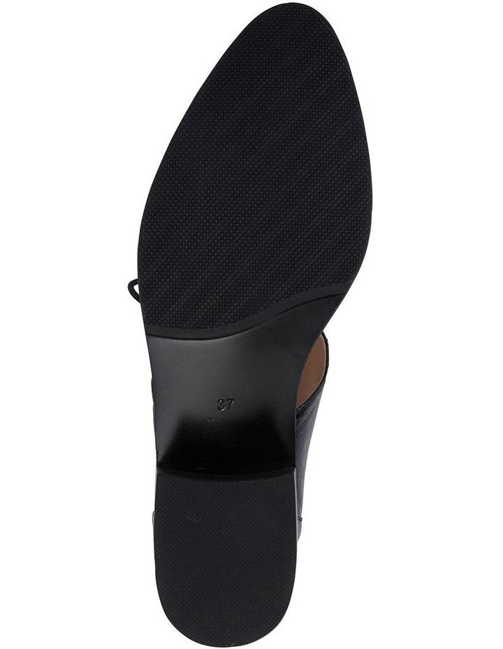 Exhibit Black Oil Flat Shoes image 5