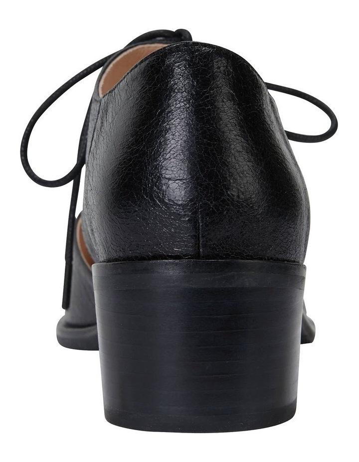 Exhibit Black Oil Flat Shoes image 6