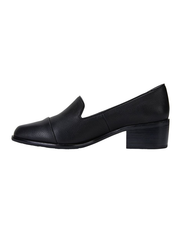 Expert Black Glove Flat Shoes image 3