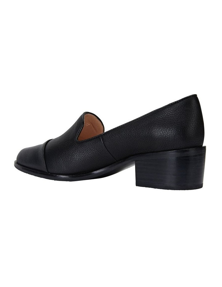 Expert Black Glove Flat Shoes image 7