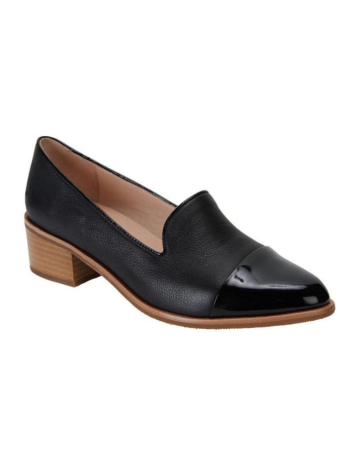 Expert Black Pat/Glove Flat Shoes image 2