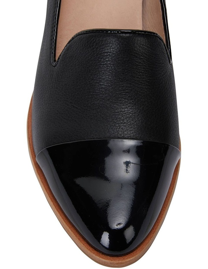 Expert Black Pat/Glove Flat Shoes image 6