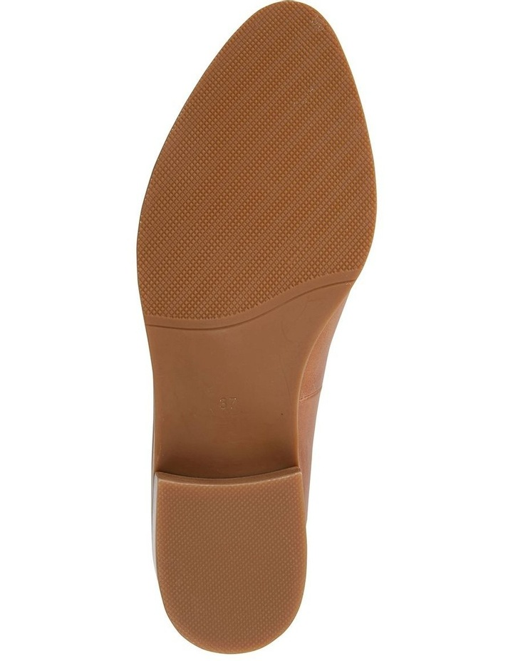 Expert Tan Glove Flat Shoes image 5