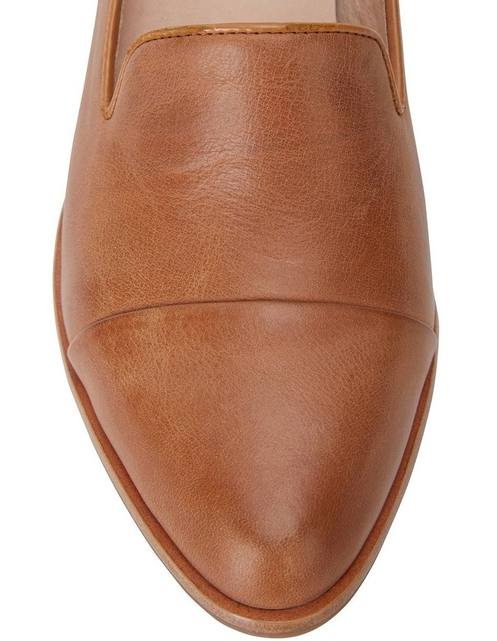 Expert Tan Glove Flat Shoes image 7