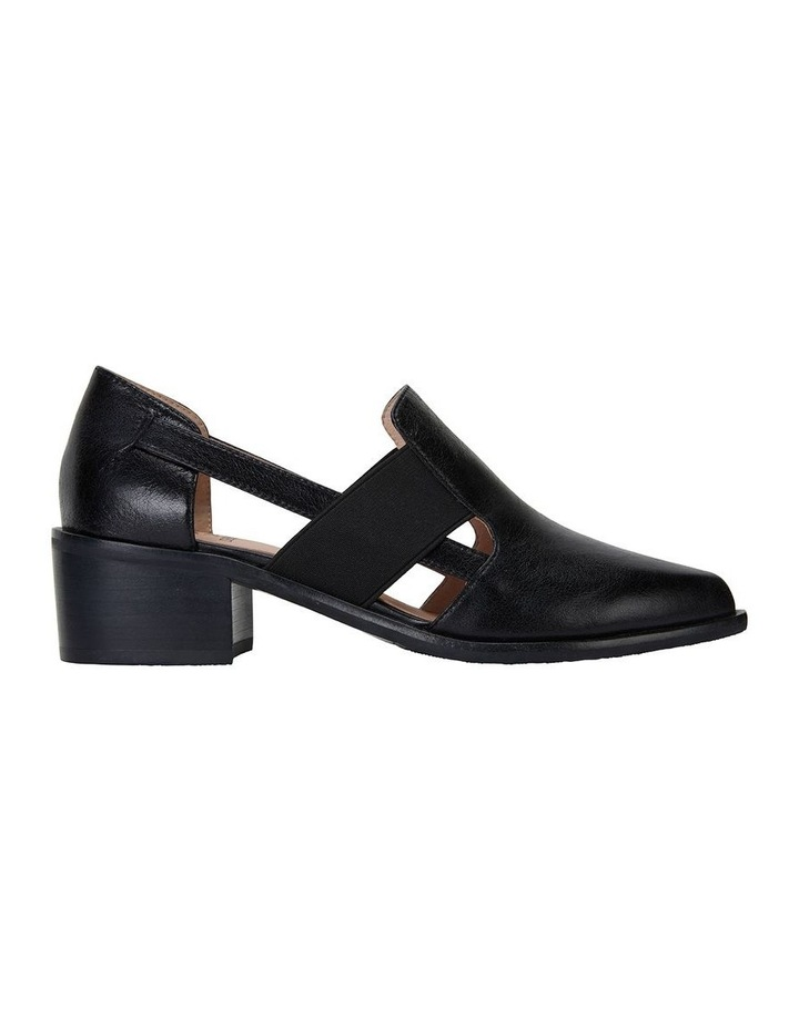 Expose Black Oil Flat Shoes image 1