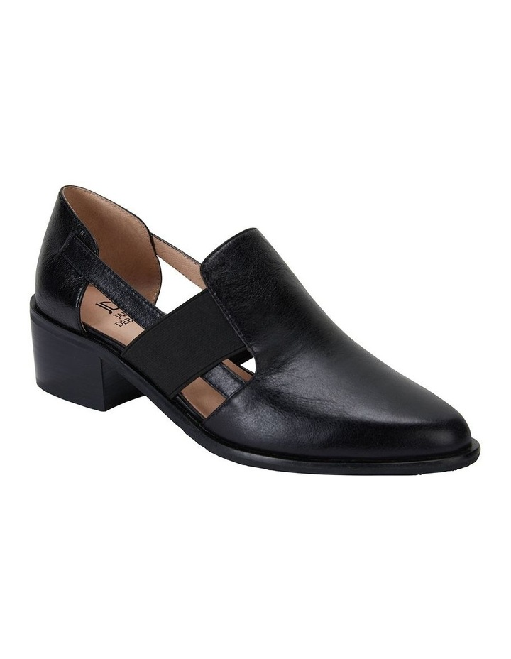 Expose Black Oil Flat Shoes image 2