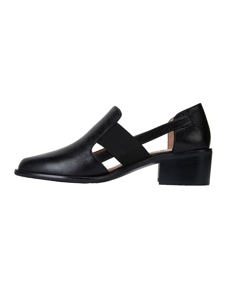 Expose Black Oil Flat Shoes image 3
