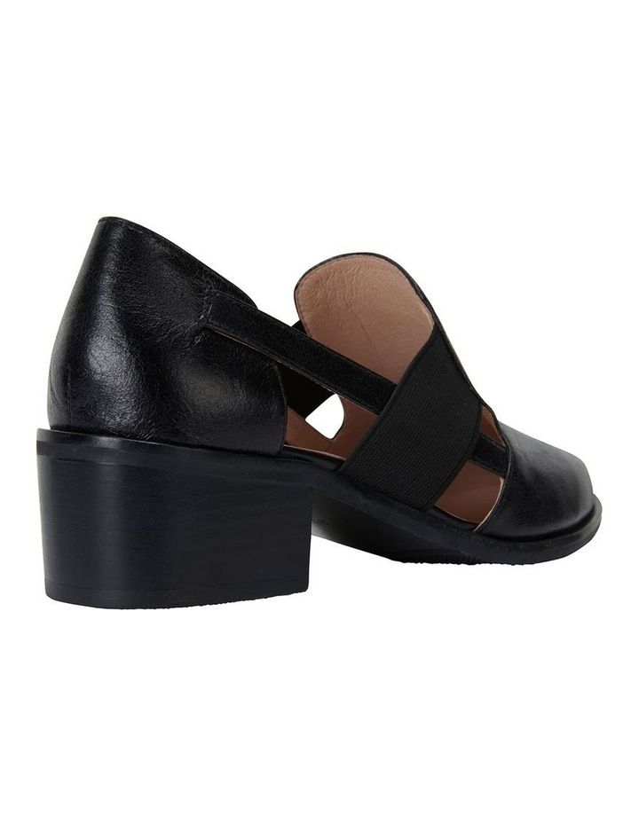 Expose Black Oil Flat Shoes image 4