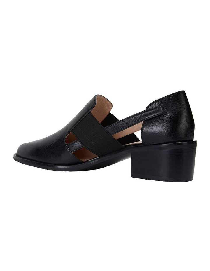 Expose Black Oil Flat Shoes image 7