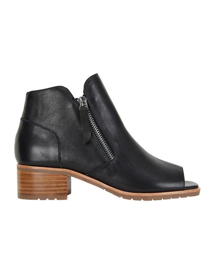 Phoenix Black Glove Flat Shoes image 1