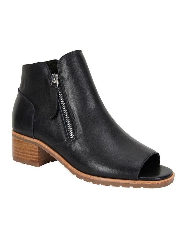 Phoenix Black Glove Flat Shoes image 2