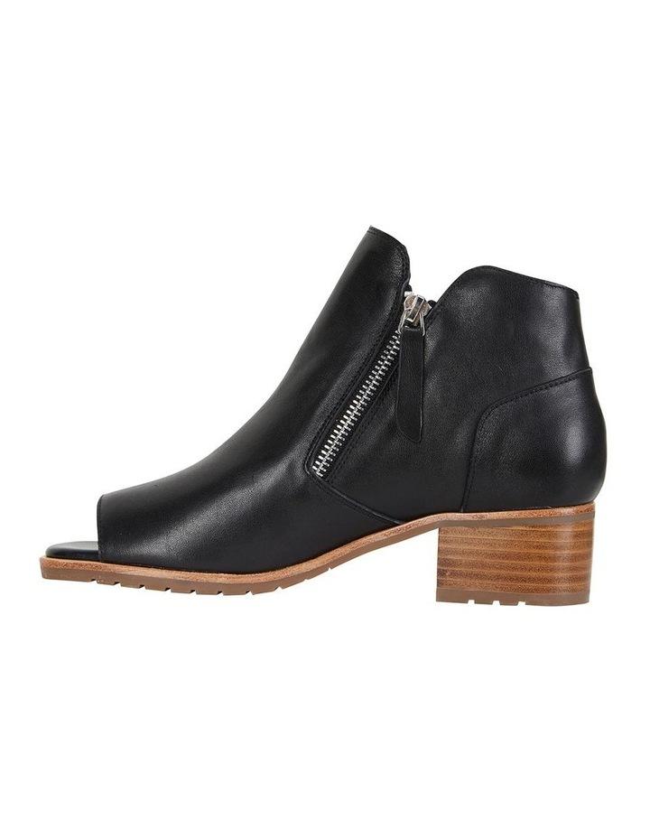 Phoenix Black Glove Flat Shoes image 3
