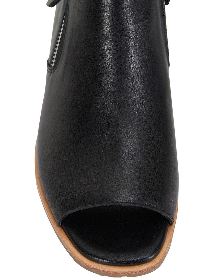 Phoenix Black Glove Flat Shoes image 5