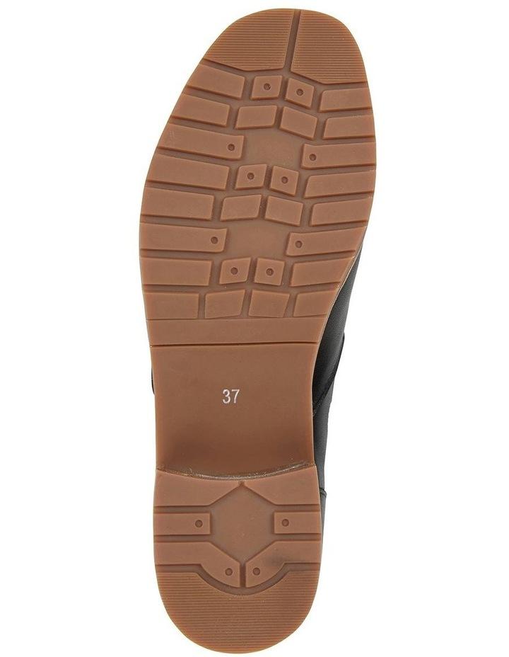 Phoenix Black Glove Flat Shoes image 6