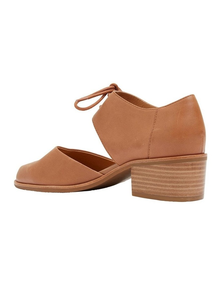 Exhibit Tan Glove Flat Shoes image 4
