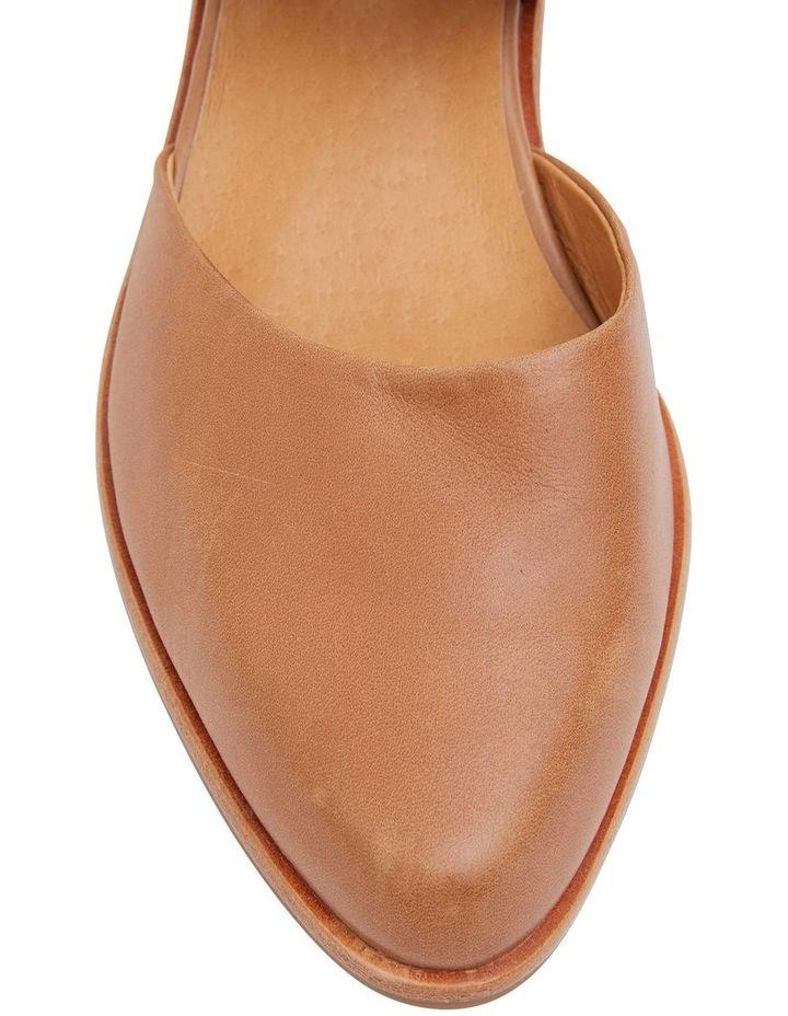 Exhibit Tan Glove Flat Shoes image 5