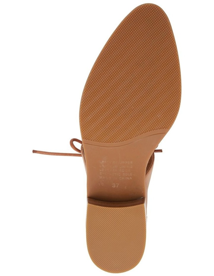 Exhibit Tan Glove Flat Shoes image 7