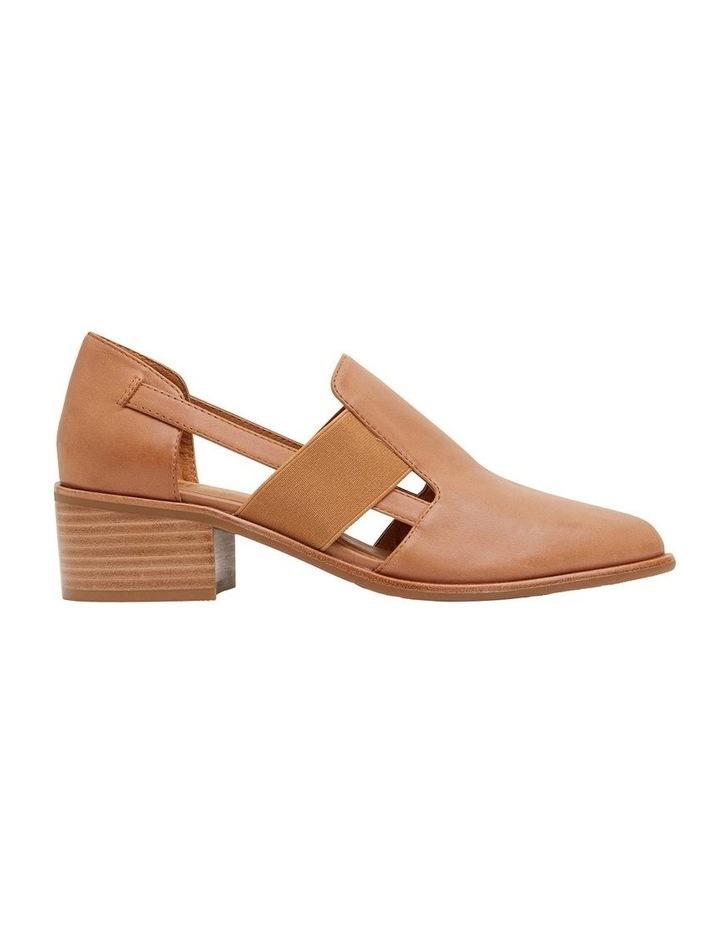 Expose Tan Glove Flat Shoes image 1