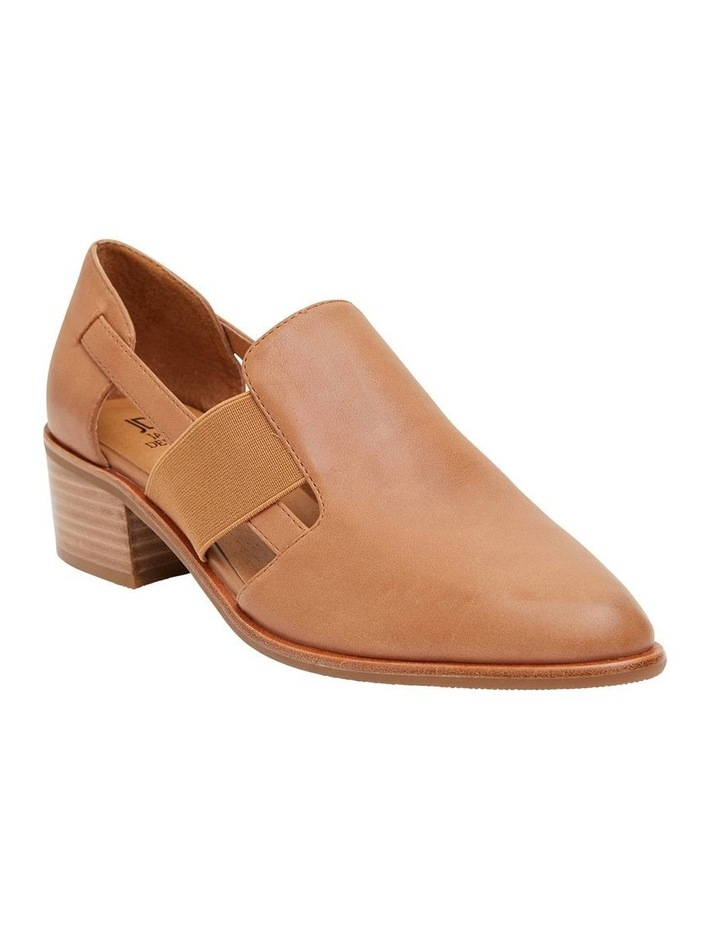 Expose Tan Glove Flat Shoes image 2